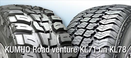 Riepas Kumho Road Venture KL71 un KL78