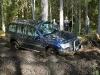 Land Cruiser 100 viegli pārvar dubļaino posmu