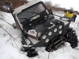 """Trofi-reids """"Jeep Raid Latvia 2009"""" rezultāti"""