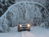 "4×4 tūrisma brauciens ""Sniega tunelis 2011"""