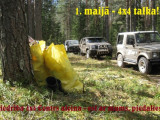 1.maijā – 4×4 talka pierīgas mežos!