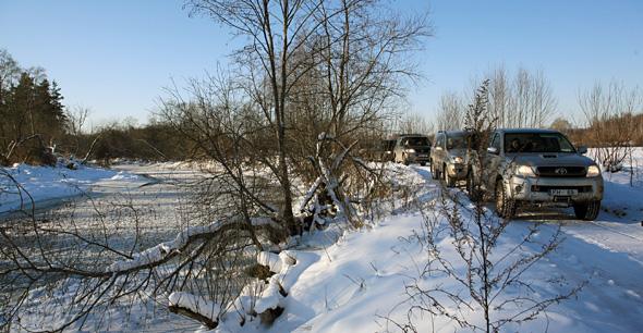 Gaujas augštece ziemā