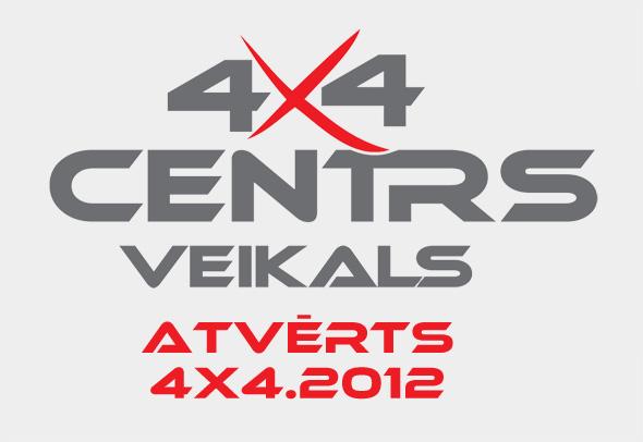 4x4 Centrs Veikals Atvērts
