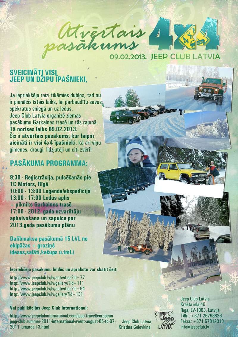 Jeep Club ziema 2013