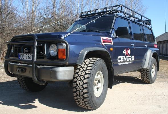 Nissan Patrol Grabber MT 33x12.5R15