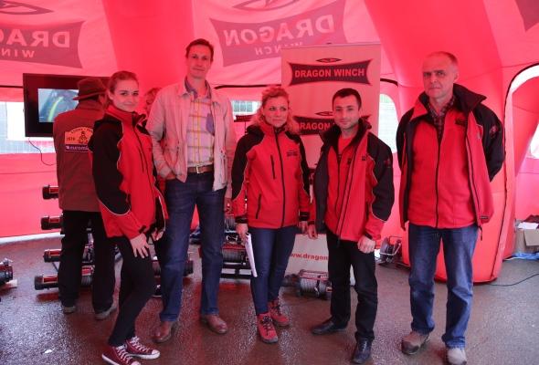 Abenteuer & Allrad 2013 - Dragon Winch team