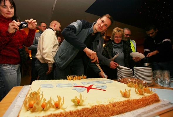 Svētku torte no 4x4 Centrs!