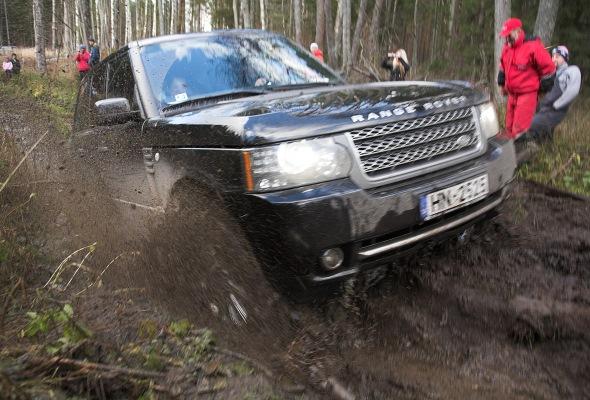 Range Rover Mud
