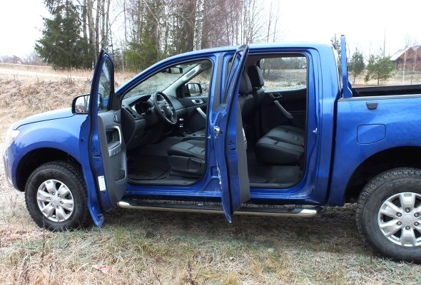 Ford Ranger Double Cab salons