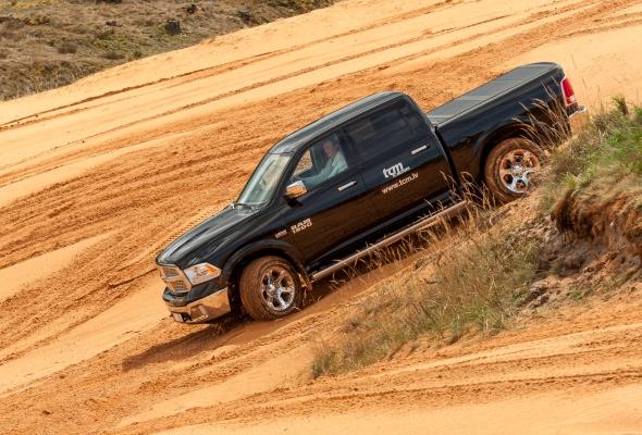 Dodge Ram 1500 downhill