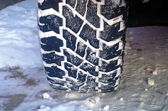 COOPER Discoverer ST Maxx sniegā