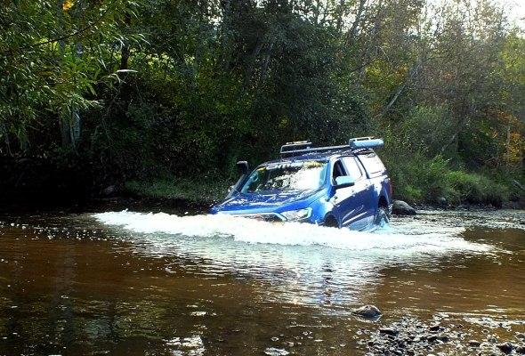 Ford Ranger brasls