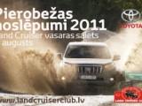 Tuvojas Toyota Land Cruiser īpašnieku saiets