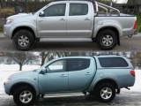 Dalāmies pieredzē: Toyota HiLux pret Mitsubishi L200