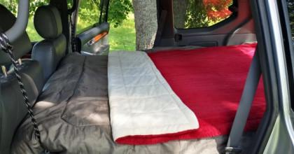 Ērta auto gulta nakšņošanai – aprīkojam Land Cruiser 120!
